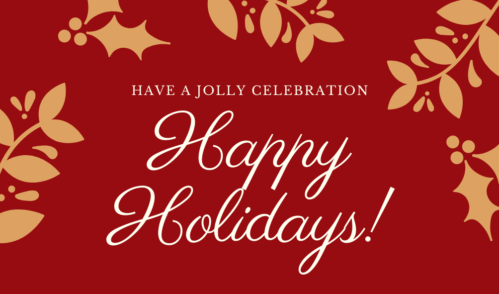 Happy Holidays from AIM Inc.